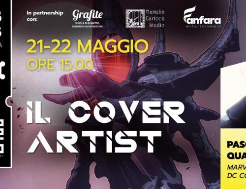 21-22 Maggio workshop su il Cover Artist